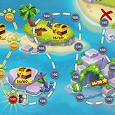 Скриншот к игре Сокровища Пиратов