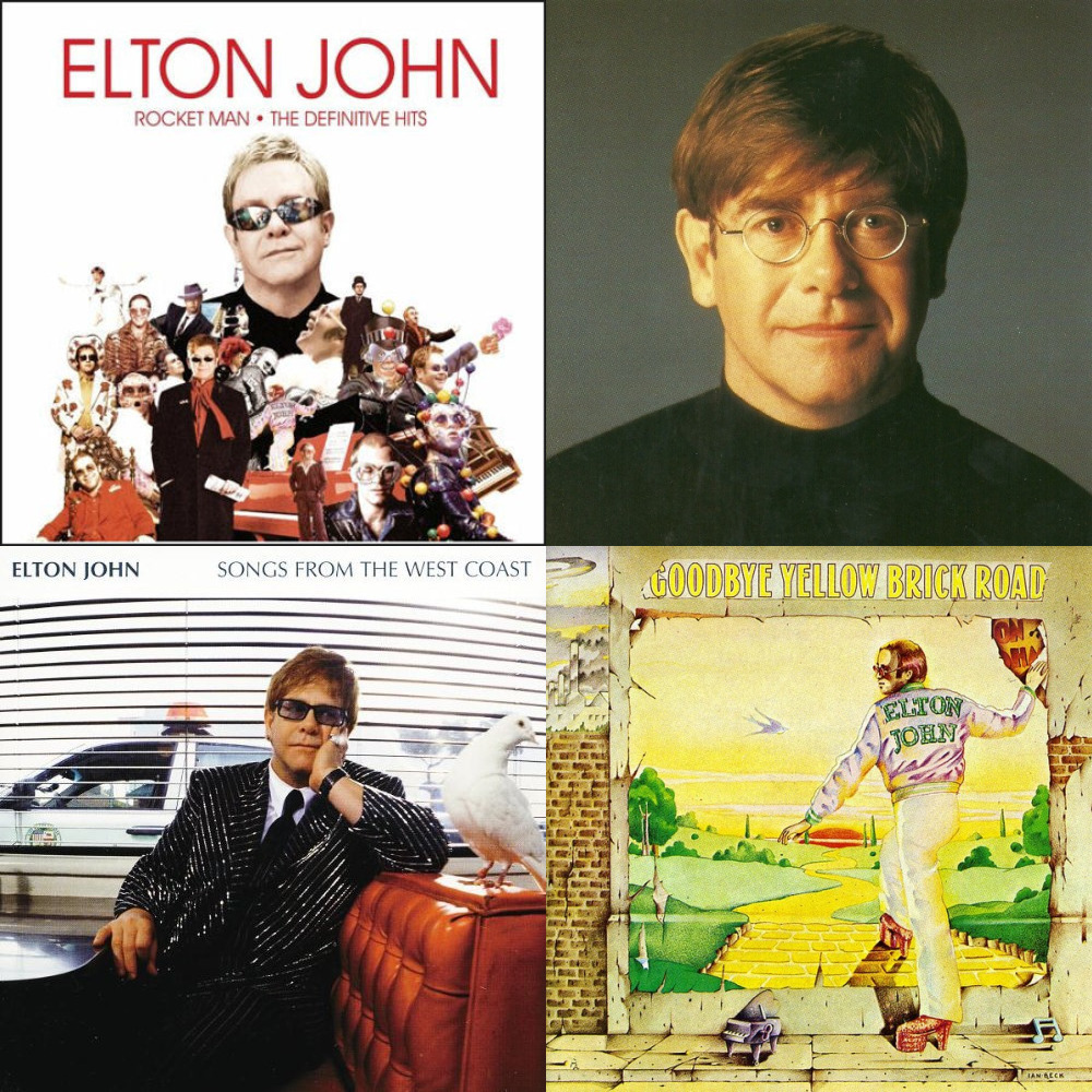 Elton john (элтон джон) — blessed (made in england ).